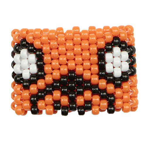 Jake The Dog Puppy Kandi Cuff, kandi bracelet, beaded cuff, bead bracelet, for halloween music festivals and - Halloween-electronic Music Festival