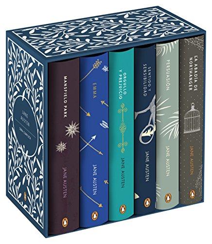 Obra completa: Estuche con: Mansfield Park | Emma | Orgullo y prejuicio | Sentido y sensibilidad | Persuasión | La abadía de Northanger (Penguin Clásicos) por Jane Austen
