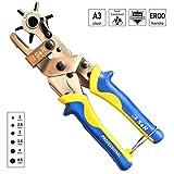 S&R Hebel-Revolverlochzange RUND 2- 2