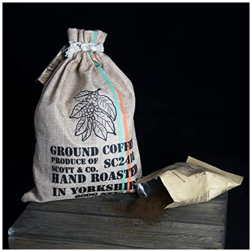 New Ground Coffee Gift Set – Your Coffee Set Contains 10 Different Around The World Coffees Which are Hand Roasted in The UK. Complete with Info Booklet for an Ideal Gift