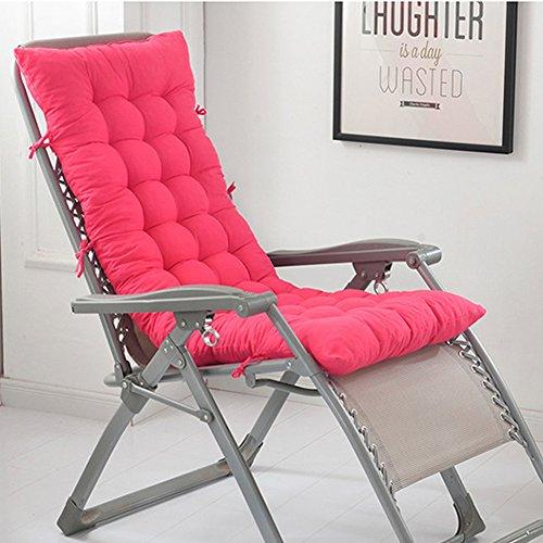 chengyu Hohe Rückenlehne Chaise Lounge Kissen, Lange Sitzkissen mit Hohe Qualität Baumwolle weich...