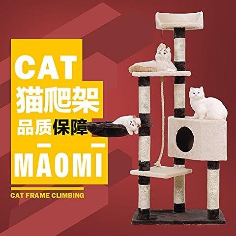 ZPP-Il Pet giocattoli, cat giocattoli, cat scratchers fatto gatto tree gattino forniture sisal classica struttura