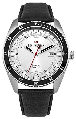 Ben Sherman pour Homme analogique Montre à Quartz avec Bracelet Cuir–Wbs107b
