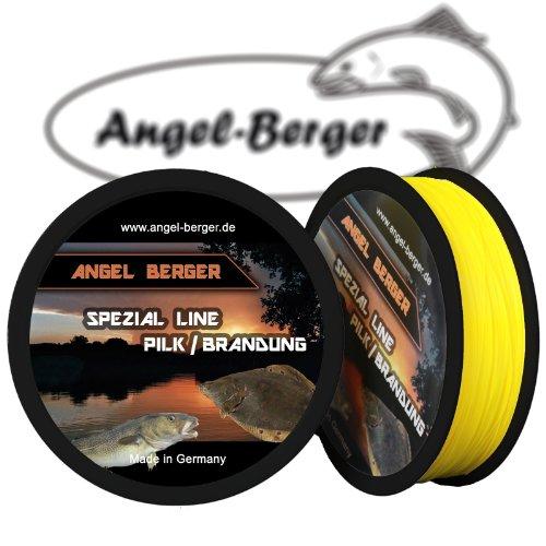 Angel-Berger Spezial Line Angelschnur Zielfischschnur Aal, Forelle, Hecht, Zander, Karpfen, Dorsch, Weissfisch (Pilk/Brandung, 0,50mm / 20,50Kg)