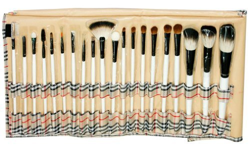 20 PCS Pinceaux Cosm¨¦tiques/Trousse ¨¤ Maquillage Professionnel/Makeup Brush Set