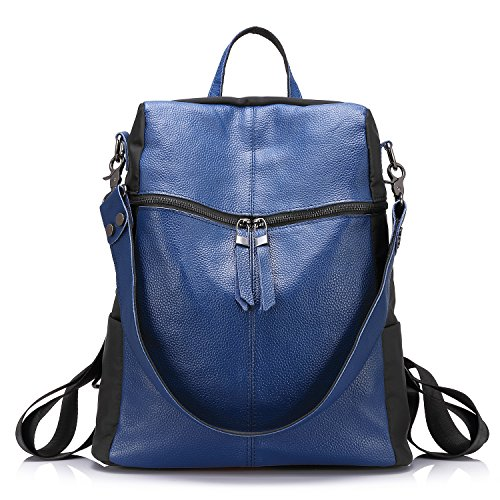 Mochila para las niñas Washed Fabrics Casual Convertible Shoulder Bucket Bags