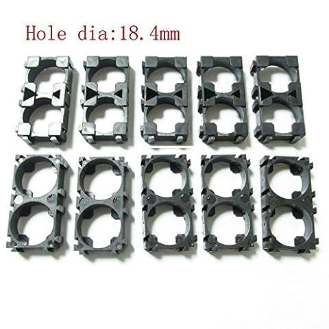 Holder 10pc batterie Spacer 2x 18650 Radiating Shell EV Battery