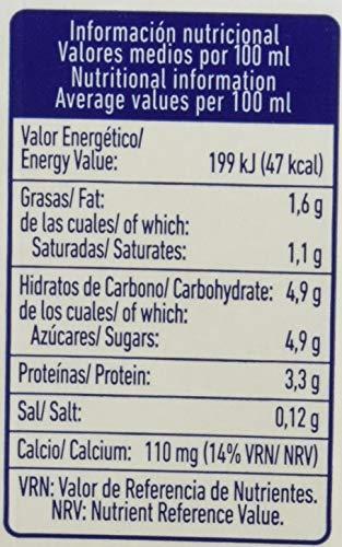 Pascual Leche Sin Lactosa Semidesnatada - Paquete de 6 x 1 l - Total: 6 l