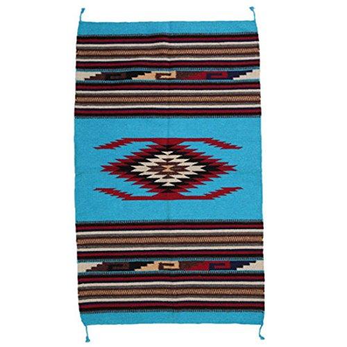 Teppich / Läufer im Stil der Navajo-Indianer - Southwest Ranch, Style V (66-teppich Route)