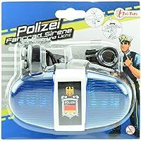 Toi-Toys–Policía iluminación Accesorios para Bicicletas y vehículos, 55008a, Multicolor