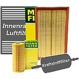 Muñeco filtro Juego completo para Seat Leon (1m1) 1.9TDI