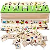 لعبة تعليمية خشب للتمييز بين اشكال الحيوانات والفواكه وزيادة الادراك وتعلم الحساب للاطفال البيبي بمرحلة الطفولة المبكرة من مو