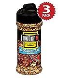 Weber Grill Chicago Steak Gewürze - 3er Pack (3x170g)
