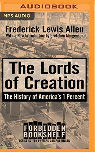 The Lords of Creation (Forbidden Bookshelf) por Fredrick Lewis Allen