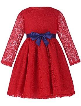 Grace Karin® Langarm A-linie Prinzessin Maedchen Kleid Partykleid