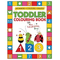 My Numbers, Colours and Shapes Toddler Colouring Book with The Learning Bugs: Fun Children