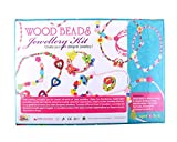 #9: Wood Beads Jewellery Kit for Girls/ Birthday Gift Item for 5+ Years