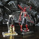 Action Figure Super Hero Iron Spiderman Marvel Avengers Modèle Jouet Animé Caractère Modèle Enfants Jouet 17cm...