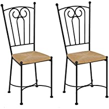 Chaise fer forg - Chaise en fer forge pour jardin ...