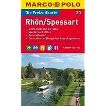 MARCO POLO Freizeitkarte Rhön, Spessart 1:100.000