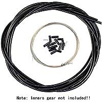 Aulola® delante y traseros de equipo Cable de freno conjunto Negro negro