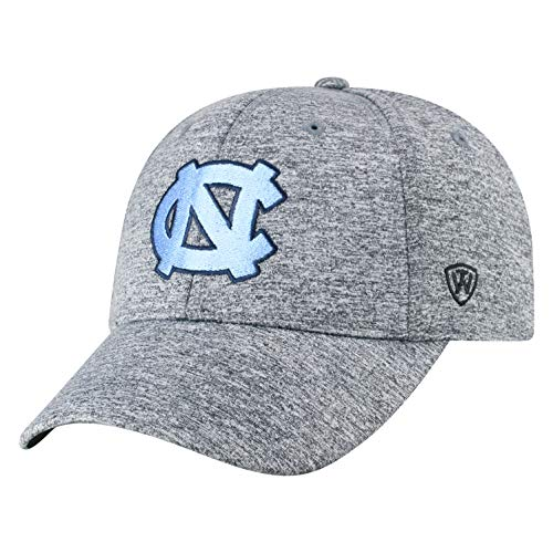 save off e4c7e 0651f Top of the World NCAA North Carolina Tar Heels Men s Adjustable Steam  Charcoal Icon Hat,