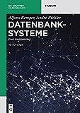 Datenbanksysteme: Eine Einführung (De Gruyter Studium) - Alfons Kemper, André Eickler