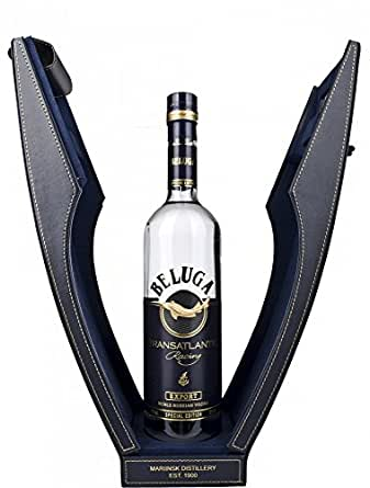 Beluga Transatlantic Racing Vodka in Leather Case, 70 cl