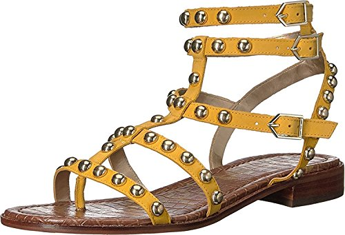 Sam Edelman Eavan, Sandali donna nero Black Sunset Yellow