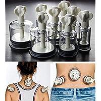 Massage Schröpfen Set mit 8 Schröpfgläser aus hochwertigen Kunststoff (Gewinde bzw. Schraubensystem) Schneckensystem... preisvergleich bei billige-tabletten.eu