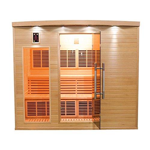 Sauna cabine infrarouge apollon club 4-5 places APOLLON4S