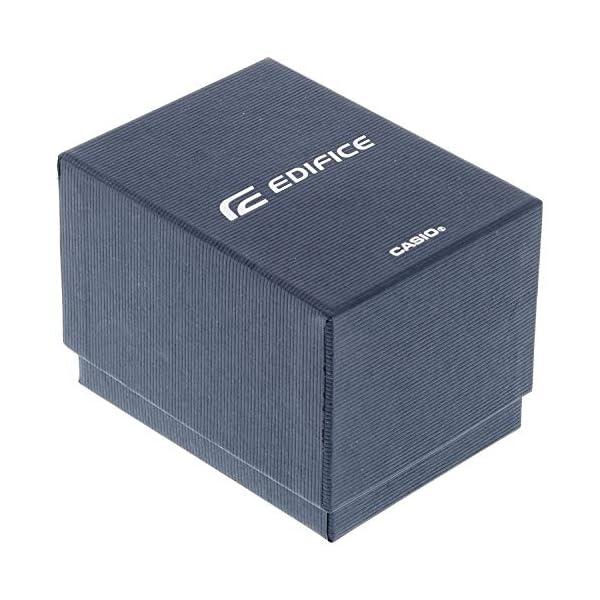 Casio EF-552-1AVEF EDIFICE – Reloj en caja sólida de acero inoxidable,