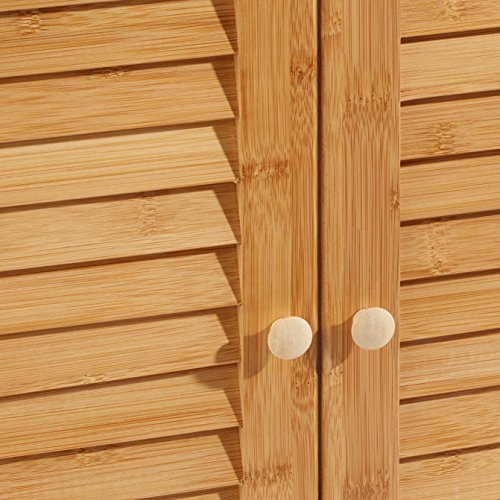 Bambus Waschbeckenunterschrank von Relaxdays - 4