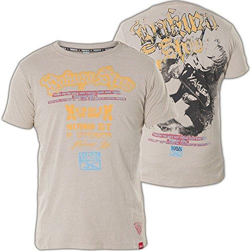 Yakuza T-Shirt TSB-420 Grau Grau