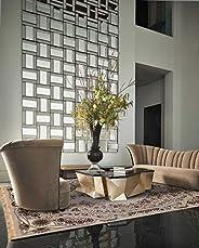 Al Salem Carpet Al madayan Polyster Carpet Dinning Room Prayer room Rectangle 200 CM X 290 CM 12.75 KG Cream C