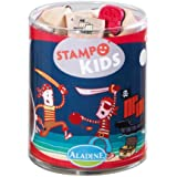 Aladine Stampo Kids 3327 Stamp Set Pirates