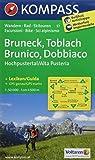 KOMPASS Wanderkarte Bruneck /Toblach /Hochpustertal - Brunico /Dobbiaco /Alta Pusteria: Wanderkarte mit Aktiv Guide, Rad- und alpinen Skirouten. ... 1:50 000 (KOMPASS-Wanderkarten, Band 57)