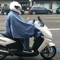 Capa de Agua para Moto Aberturas ajustables para los retrovisores