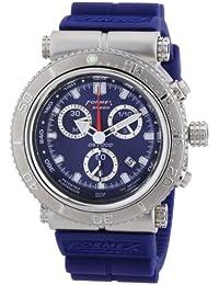 Formex 4 Speed DS2000 - Reloj para caballero de silicona azul