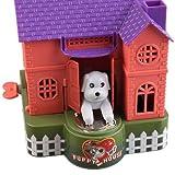 #6: SHOPEE BRANNDED Piggy Bank Dog House Coin Box Key Wind Animated Puppy Grab Saving