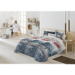 Casa Creativa COLCHA BOUTI GARY + Cojín decorativo (200X270) cama de 105 (ANTILO)