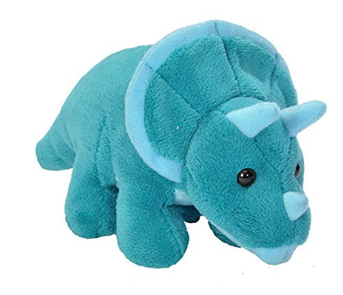 Wild Republic 18096 CK Lil'sPlush Toy –Triceratops Dinosaur 15cm