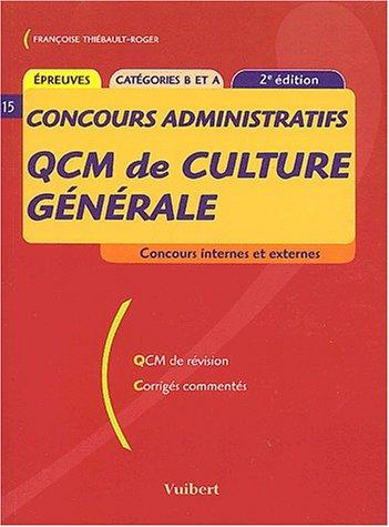 QCM de culture générale, numéro 15