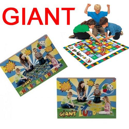 Giant Outdoor Spiele Kinder spielen Matte Spiel mit Spaß Familie Aktivität Board Traditionelle New SNAKES & LADDERS