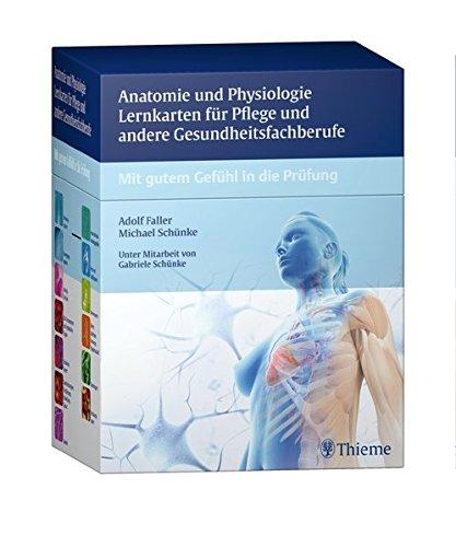 Anatomie und Physiologie Lernkarten für Pflege und andere Gesundheitsfachberufe