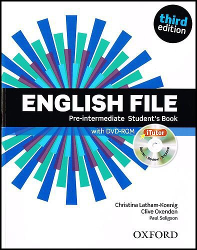 English File third edition: English file pint sb & itutor Pack 3ed por Clive Oxenden