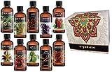 Set De 10 Aceites Perfumados Esenciales Para Aromaterapia Surtidos . Sensaciones Esenciales.