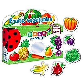 Magneti frigo per bambini FRUTTA & VEGGY 32 pz – Bambini 2 anni – Frutta giocattolo