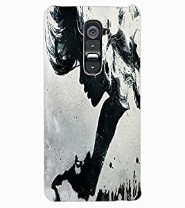 ColourCraft Beautiful Art Design Back Case Cover for LG G2
