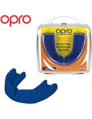 OPRO Snap-Fit Mouthguard | Gum Shield for Rugby, Hockey and other Contact Sports